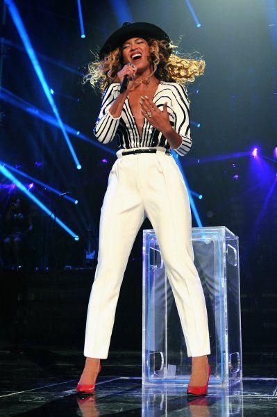 天后碧昂斯身穿Gucci套装完美结束全球巡演