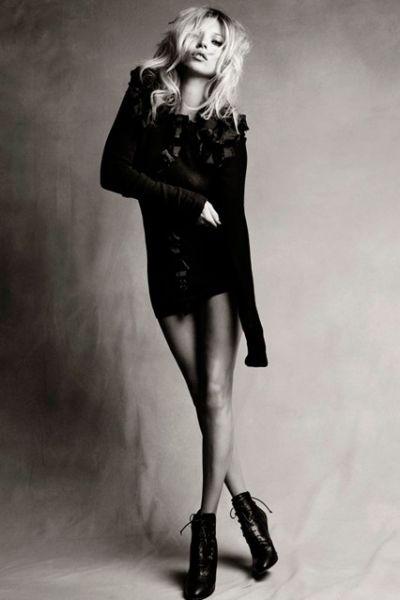 Kate Moss2012全年收入翻三翻达1172千万英磅